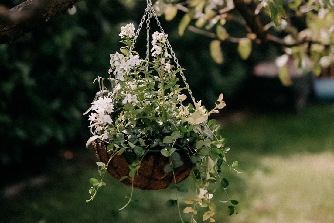 DIY Floristry_Hanging summer planter